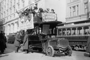 Suffrage Bus 1913