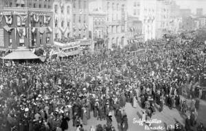 Image of Suffrage Parade 1913