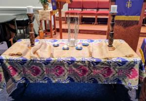 Image of Lenten Table at Sardis Baptist Church|Charlotte, NC