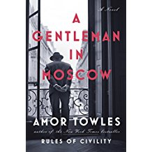 Front Cover|A Gentleman in Moscow|Amor Towles