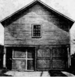 Garage and site of Sam Willis Murder 1927